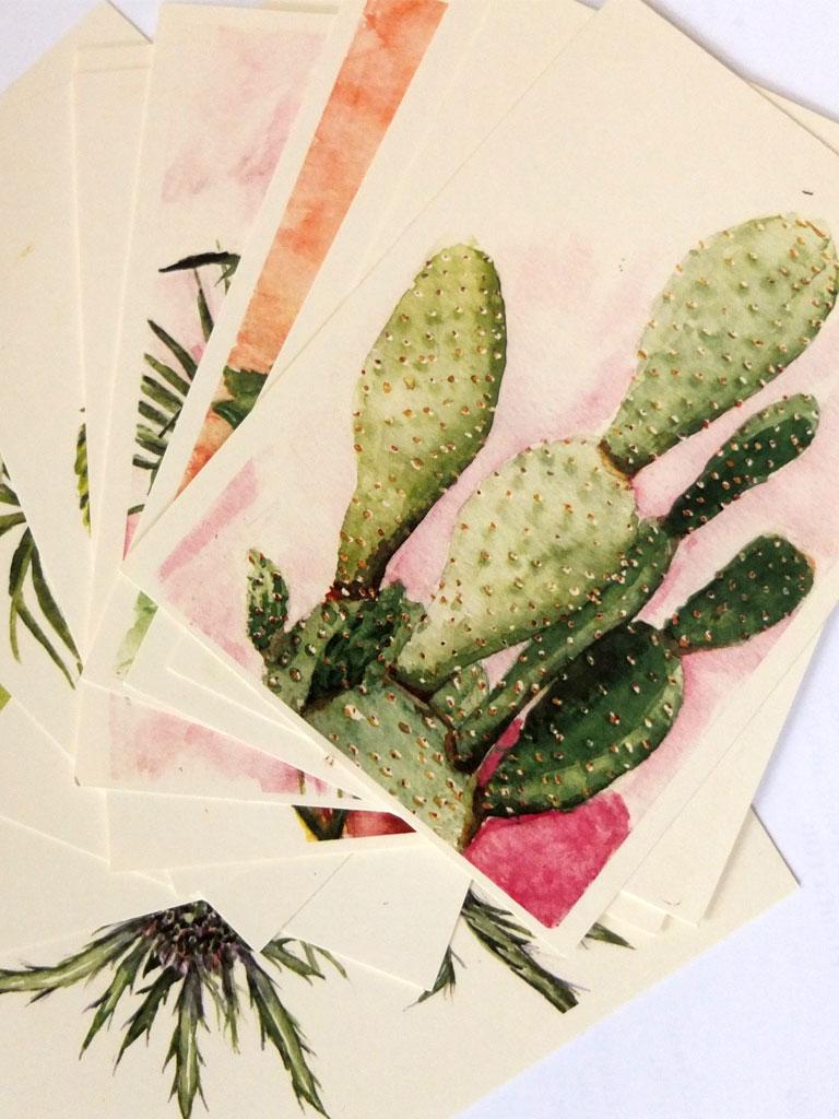 postkaarte plantuary volledige set